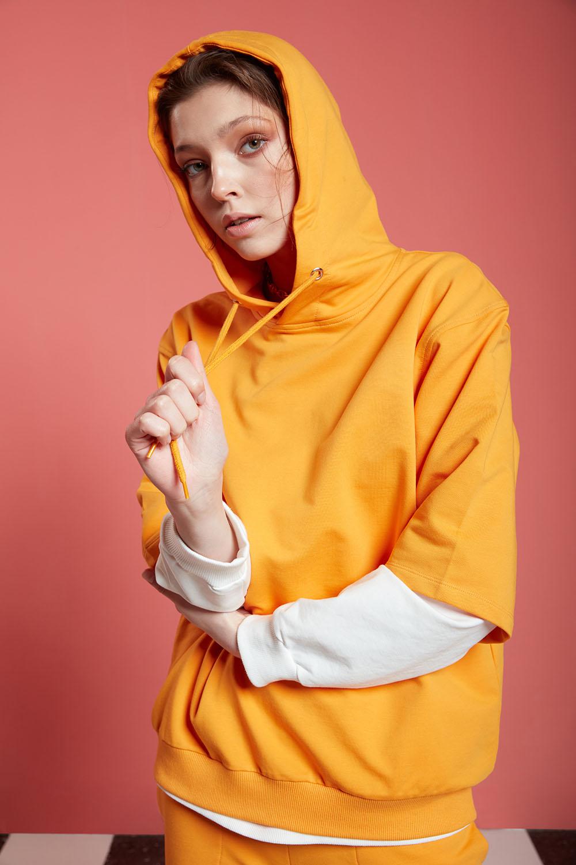 Basic Kısa Kollu Mango Sweatshirt