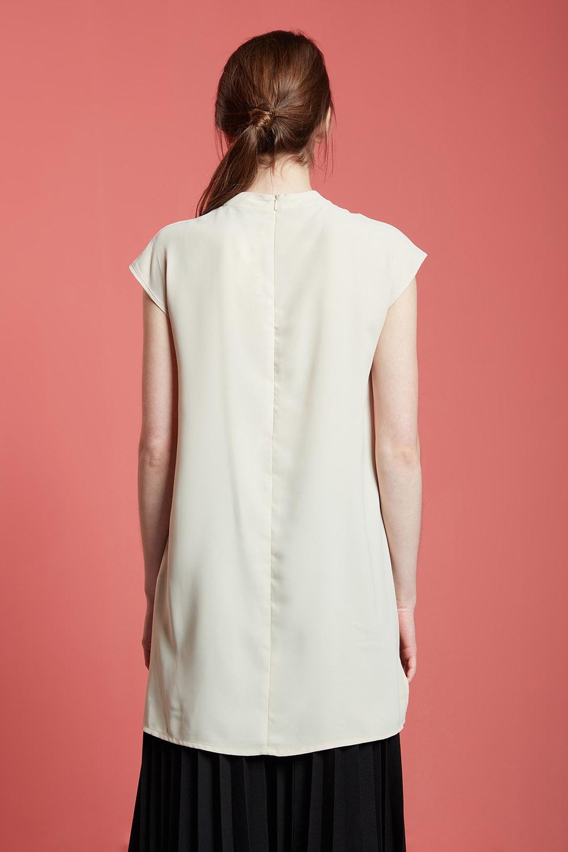 Basic Kolsuz Uzun Bluz (Bej)