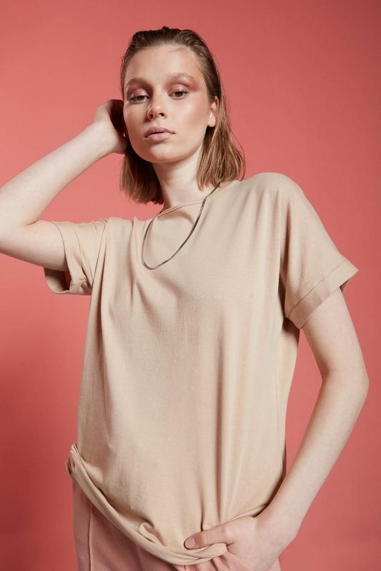 Basic T-Shirt (Bej)