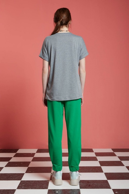 Basic T-Shirt (Gri)