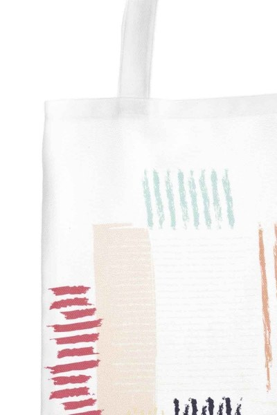 MIZALLE - Cloth Bag (Stripes) (1)