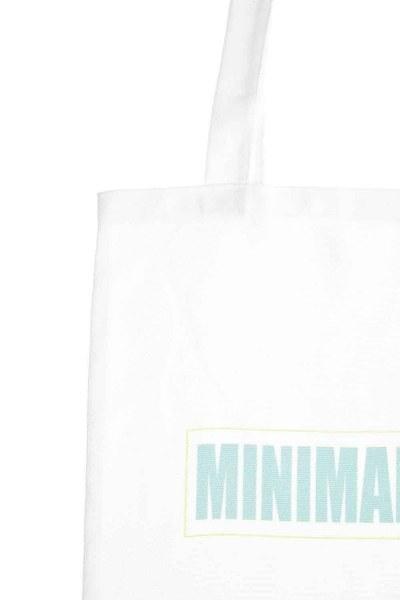 MIZALLE - Baskılı Bez Çanta (Minimal) (1)