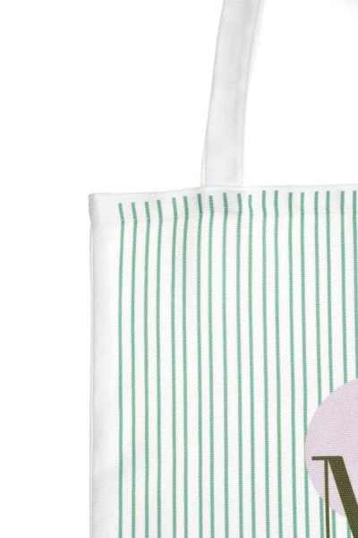 MIZALLE - Cloth Bag (Green Stripe) (1)