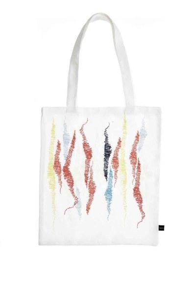 MIZALLE Cloth Bag (Zigzag)