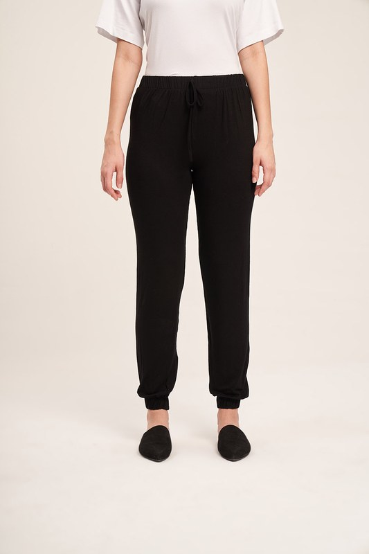 Baskılı Pijama Takımı (Siyah)