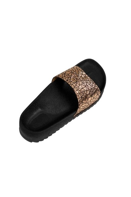 Soft Sole Slippers (Gold) - Thumbnail