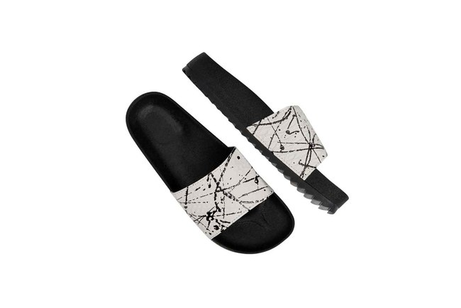 Soft Sole Slippers (White) - Thumbnail