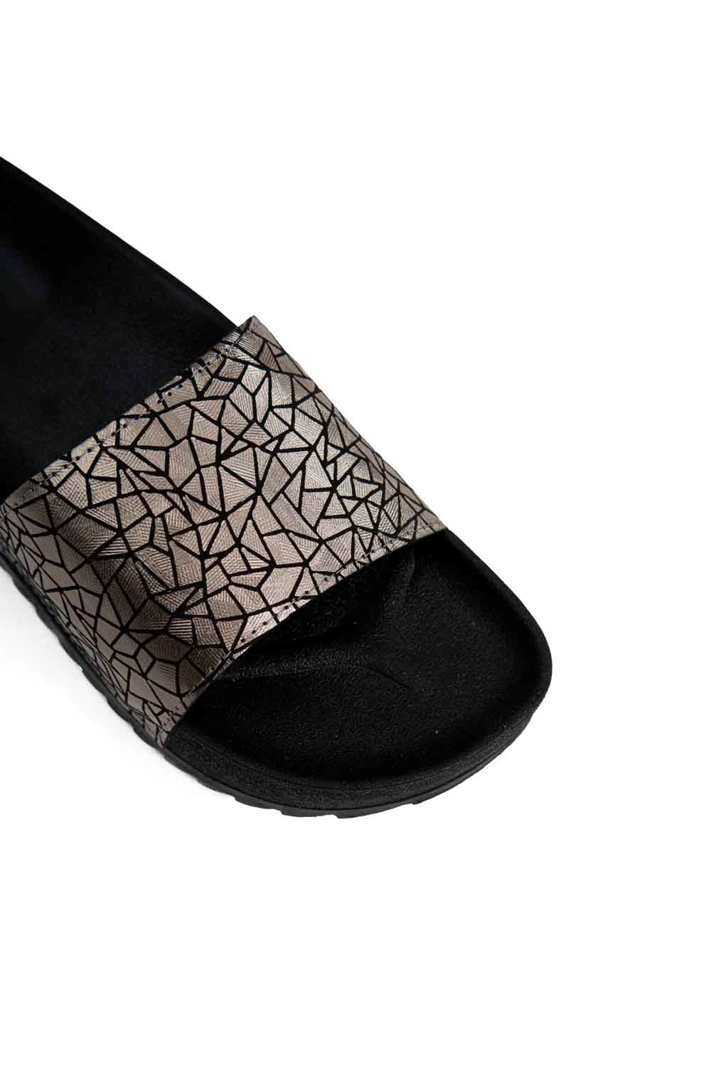 Soft Sole Slippers (Silver) (1)
