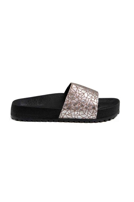 MIZALLE Soft Sole Slippers (Platinum)