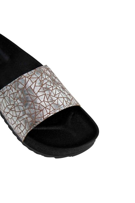 Soft Sole Slippers (Platinum) - Thumbnail