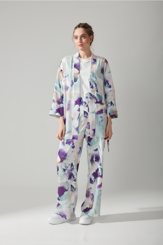 Batik Desenli Kimono