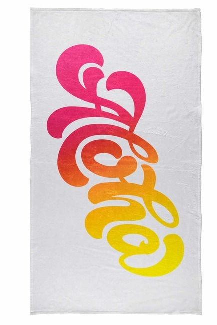 Beach Towel (Patterned) - Thumbnail