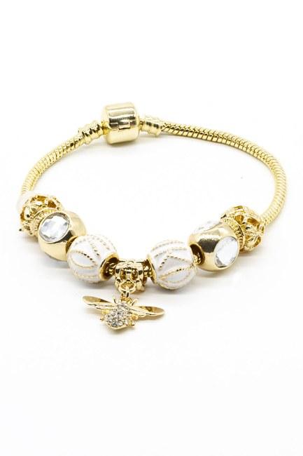 MIZALLE - سوار النحل (أبيض) (1)