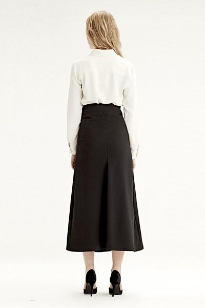 Waistbelt Skirt (Black) - Thumbnail