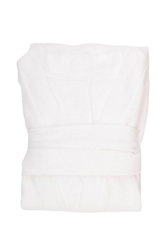 White Cotton Bathrobe