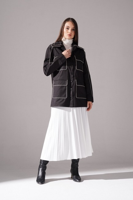 Mizalle - Biye Detaylı Ceket
