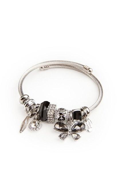 MIZALLE Butterfly Bracelet (Black)