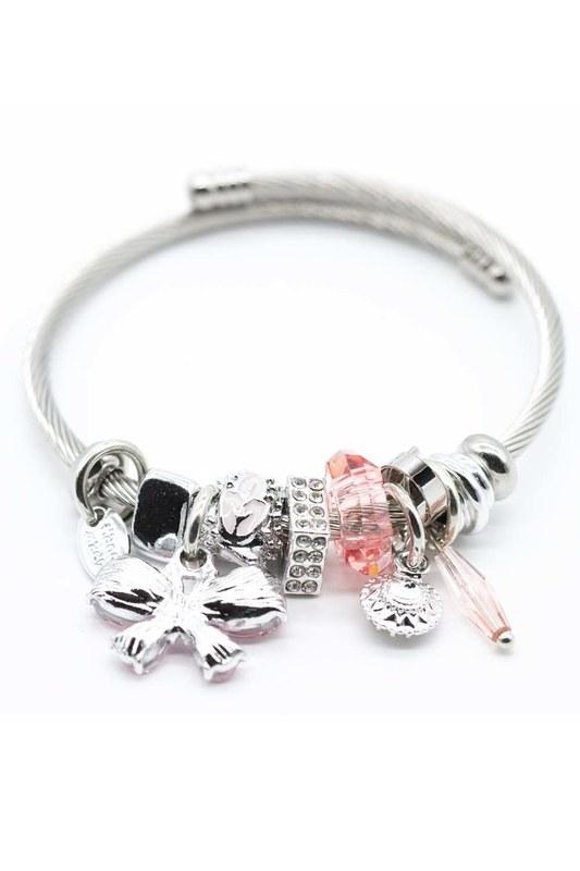 Butterfly Bracelet (Pink)