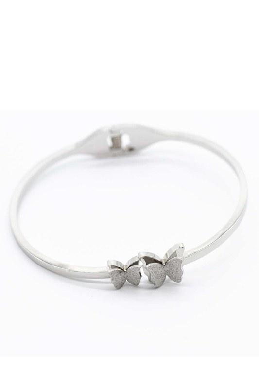 Butterfly Steel Bracelet