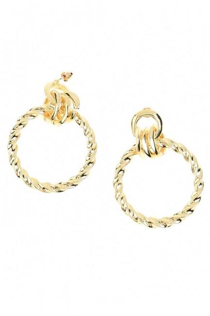 Big Auger Earrings (St) - Thumbnail