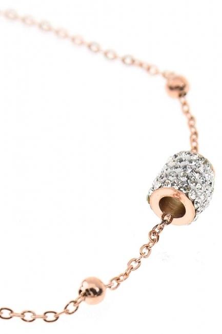 MIZALLE - Steel Luck Bracelet (St) (1)