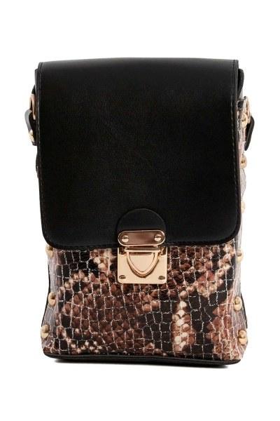 Chain Detailed Bag (Tan) - Thumbnail