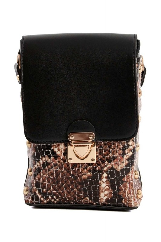 Chain Detailed Bag (Tan)