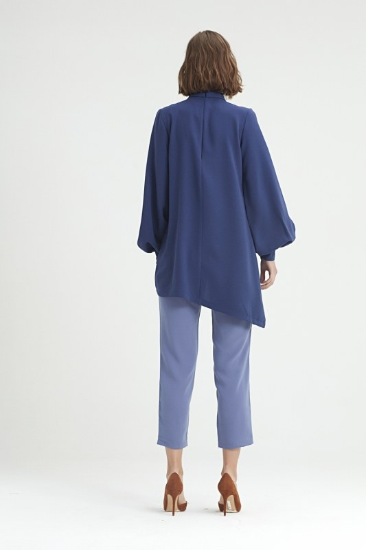 Coupled Collar Tunic (Blue) 3508