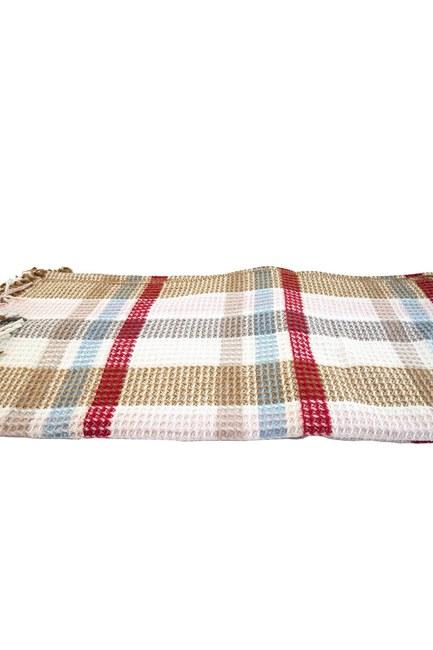 MIZALLE HOME - Double Size Blanket (Ecru) (1)