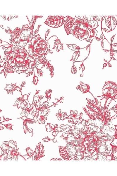 MIZALLE - طقم بياضات مزدوج وردي (200 × 220) (1)