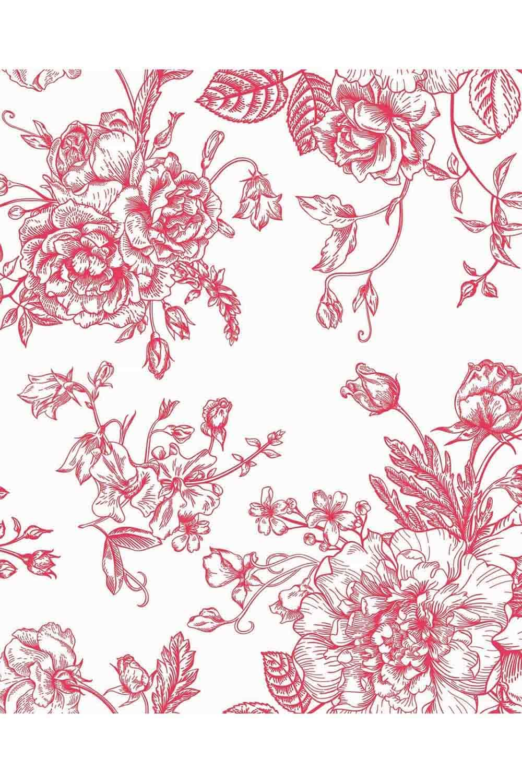 MIZALLE Pink Double Linens Set (200X220) (1)