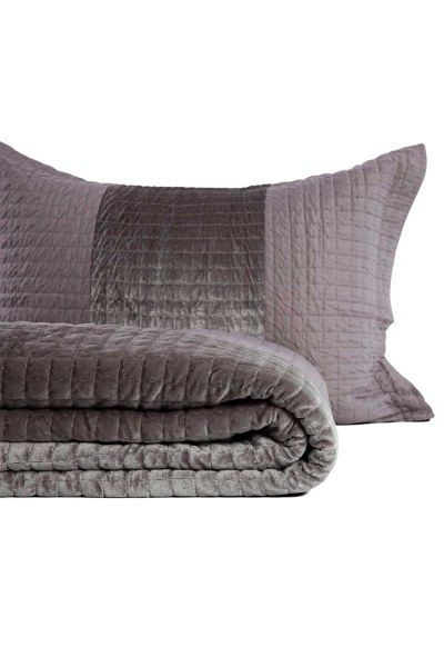 Anthracite Double Coverlet (260X270) - Thumbnail