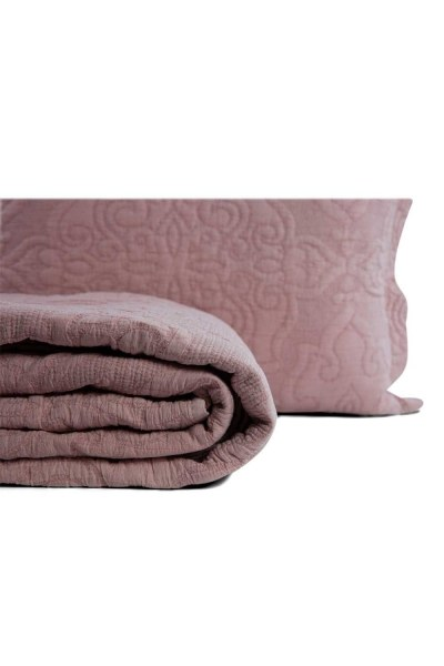 MIZALLE - Lilac Double Coverlet (260X270) (1)