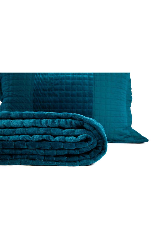 MIZALLE غطاء مزدوج ، أزرق (260X270) (1)