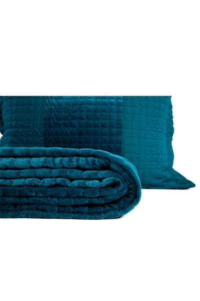 MIZALLE - غطاء مزدوج ، أزرق (260X270) (1)