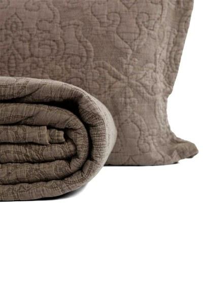 MIZALLE HOME - غطاء مزدوج ، لون المنك (260 × 270) (1)