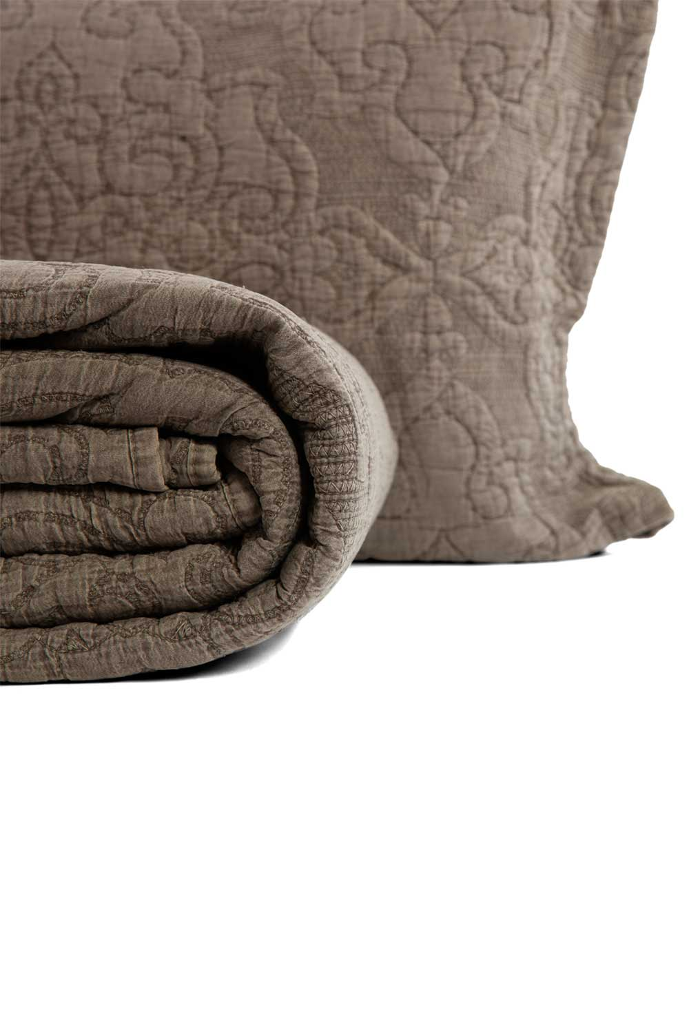 MIZALLE Mink Color Double Coverlet (260X270) (1)