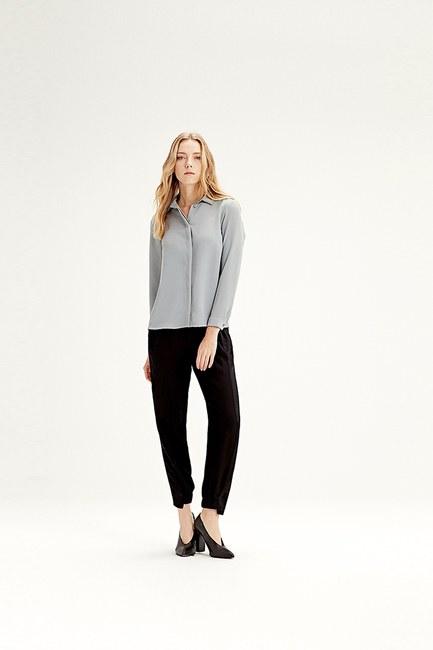 MIZALLE Classic Shirt (Grey)