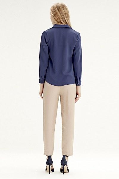قميص كلاسيكي(أزرق داكن) - Thumbnail
