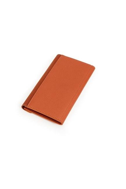 MIZALLE - Classic Wallet (Tan) (1)