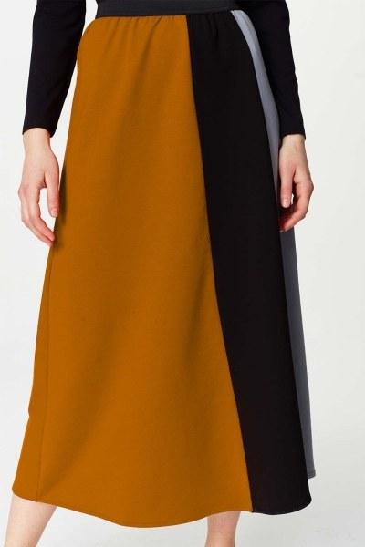 MIZALLE - Multi-Pieces Skirt (Grey) (1)