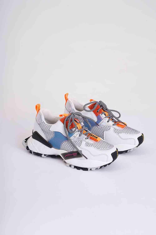 Çok Renkli Spor Ayakkabı (Beyaz)