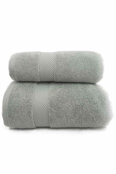 MIZALLE HOME منشفة حمام القطن (85 × 150) (لون الماريج)