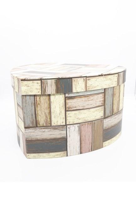 Mizalle Home - صندوق علي شكل قلب كريمي (32 × 35) (1)