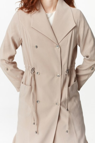 Luxury Trenchcoat (Beige) - Thumbnail