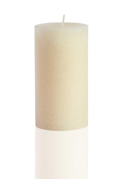 MIZALLE HOME - شكل اسطوانة ، العاج ريفي (13 × 6,8) (1)
