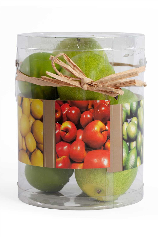 MIZALLE HOME Decorative Boxed Apple (1)