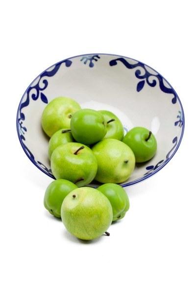 MIZALLE HOME التفاح الزخرفية ، محاصر