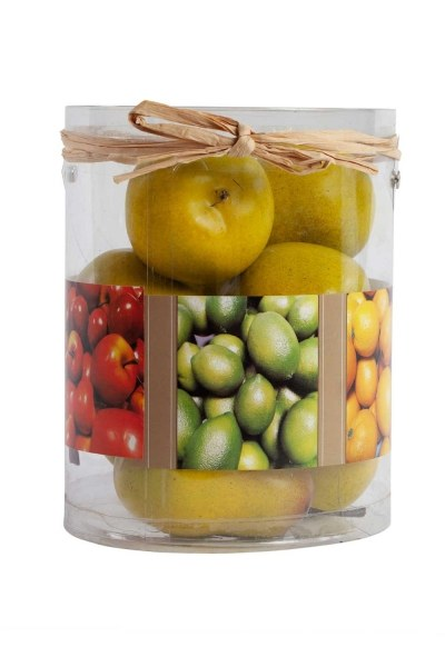 MIZALLE HOME - Decorative Boxed Pear (1)