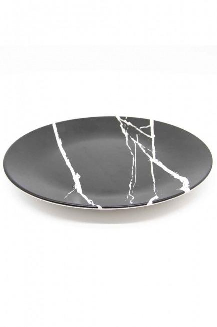 MIZALLE HOME Decorative Plate (Marble Pattern)